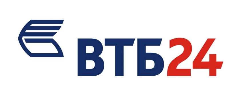 Логотип банка ВТБ