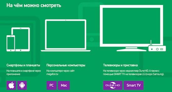 ТВ доступно на всех устройствах